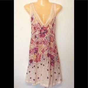 Dresses & Skirts - Free People Dress BOHO Summer Sleeveless M